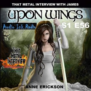 """Anne Autumn from Upon Wings appears on a recent episode of """"That Metal Show with James."""" Pictured: Upon Wings, """"You Are My Weapon,"""" cover art."""